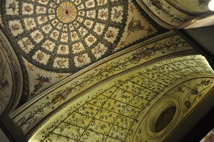Firenze, soffitti affrescati a Palazzo Vecchio